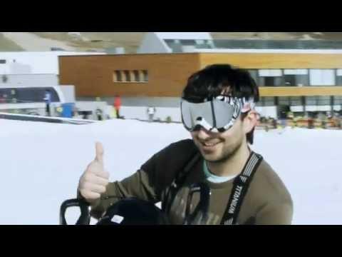Azerbaijan, Shahdag Winter Sport Complex. made by O.Aslanov