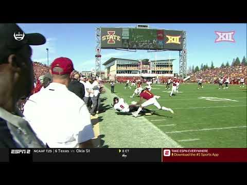 Texas Tech at Iowa State Football Highlights