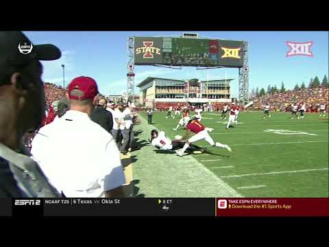 Texas Tech at Iowa State Football Highlights