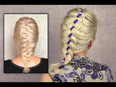 4 strand french braid tutorial on yourself ribbon braid hairstyle 4 strand french braid tutorial on yourself ribbon braid hairstyle for short medium long hair how to solutioingenieria