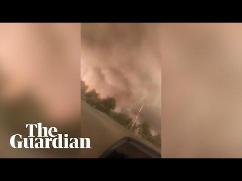 Carr wildfire spawns 'firenado' in California