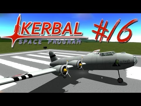 KERBAL SPACE PROGRAM 16 | LAND SPEED RECORD + FIRESPITTER
