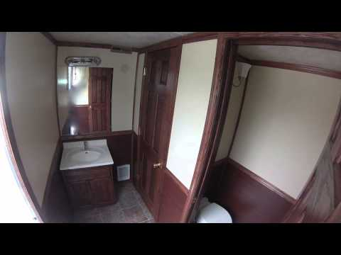 Portable Restrooms Trailer   Luxury Series 5 Station