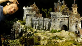 I made this MASSIVE Castle Diorama: Took me ONE YEAR to Complete!