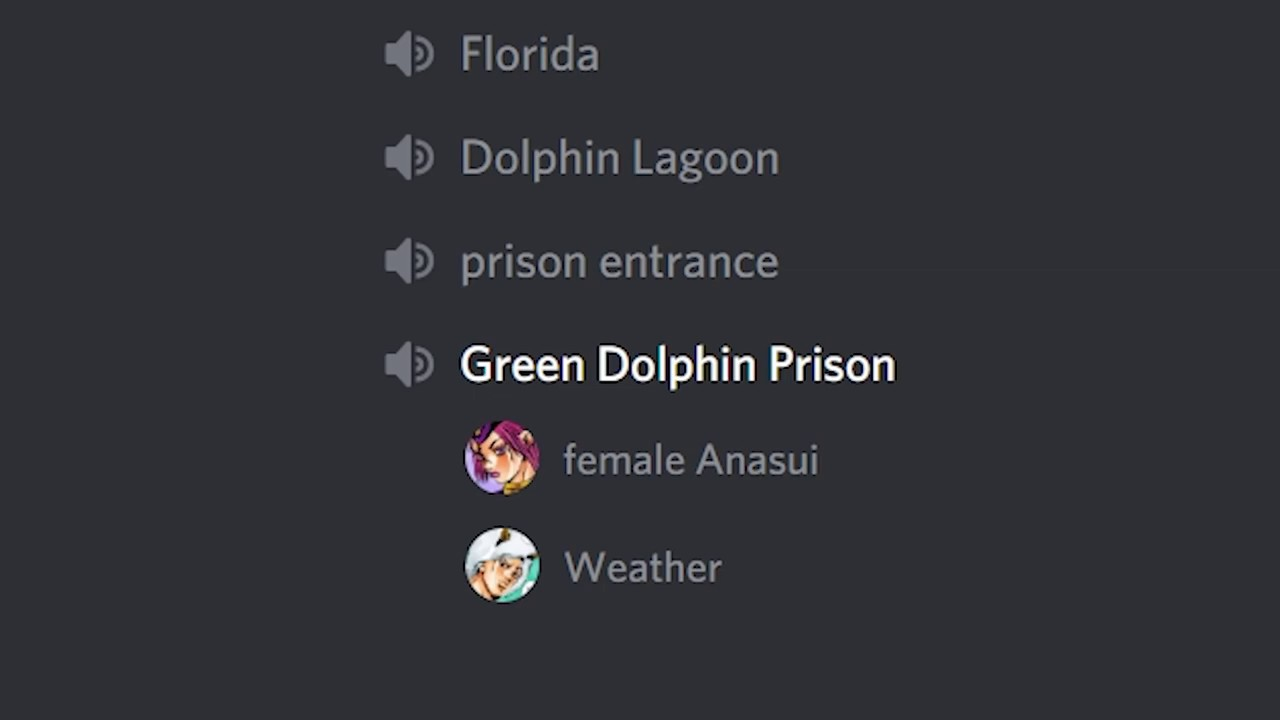 Jotaro Visits Jolyne In Prison Discord Meme Youtube
