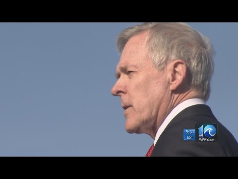 "Secretary of the Navy Ray Mabus holds ""All Hands Call"" at Naval Station Norfolk"