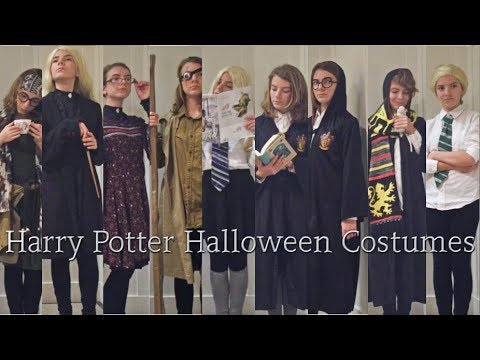 9 Diy Last Minute Harry Potter Halloween Costumes Quick Cheap