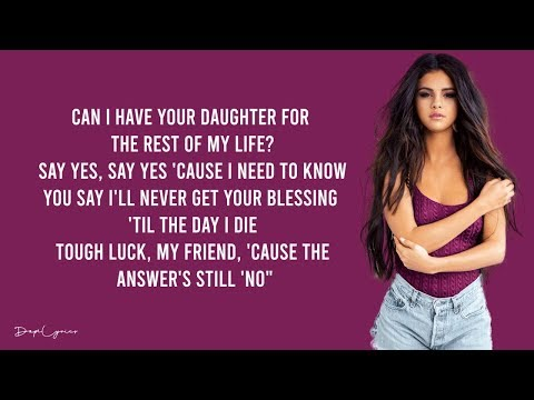 Selena Gomez - Rude (Lyrics) 🎵