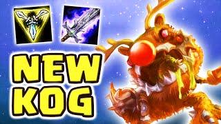 NEW KOG'MAW IN THE JUNGLE IS BROKEN | MAX ATTACK SPEED (2.50 KOG'MAW JUNGLE) - Nightblue3