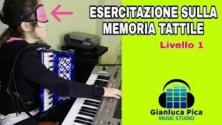 MEMORIA TATTILE – Esercitazione Liv. 1 – Luna Terrinoni