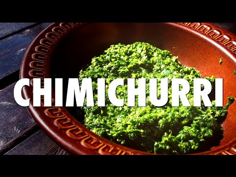 Argentinean Food: How to Make Chimichurri