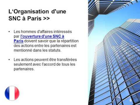 Créer une société en nom collectif à Paris
