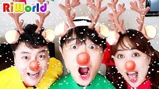 퍼니키즈와 함께하는 신나는 크리스마스 캐롤 놀이 Christmas carol! Song for Kids. Nursery Rhymes.
