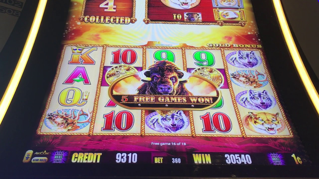 Buffalo Gold Slot Machine Free Games Bonus MAX BET. Back