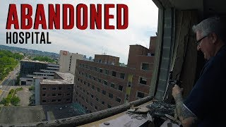 HUGE Abandoned Hospital Tour (Can you hear what the voice is saying?) KEN HERON