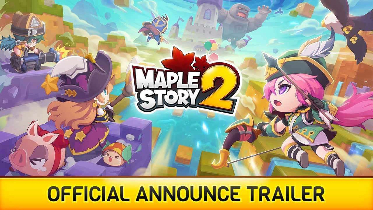 MapleStory 2 Official Announce Trailer