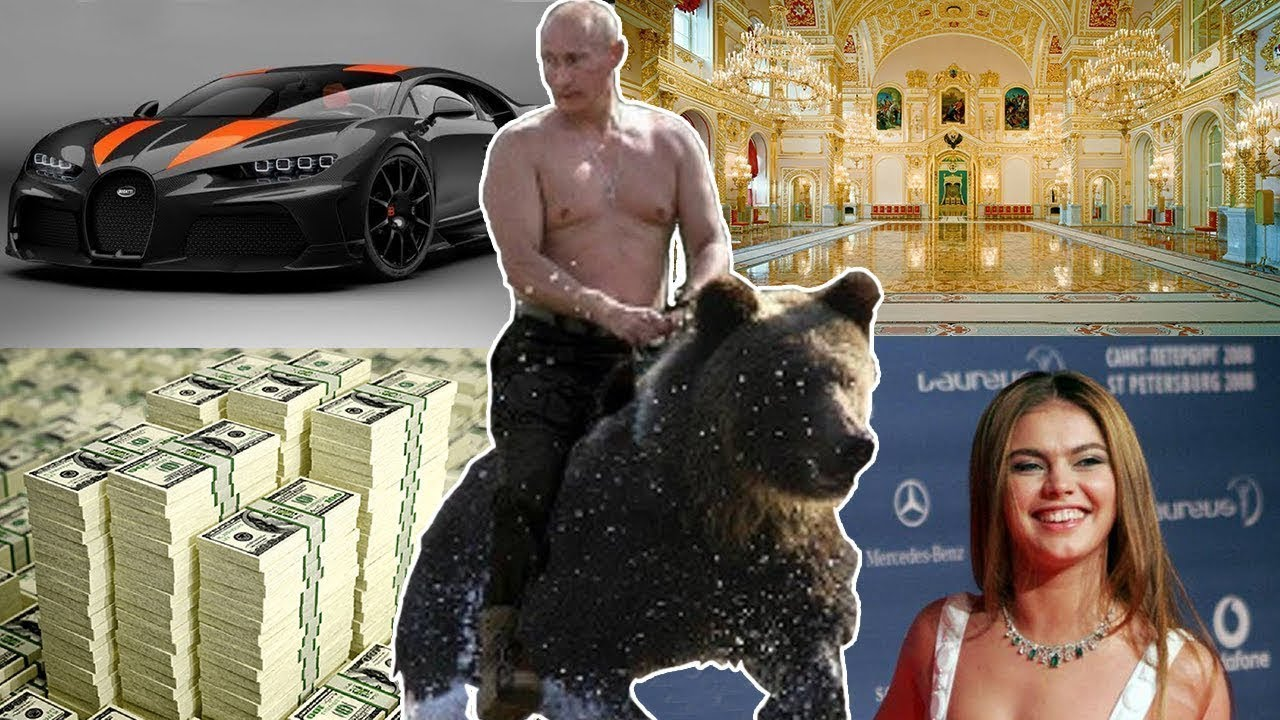 رئيس روسيا فلاديمير بوتين وحقيقة ثروته التي تفوق بيل غايتس !