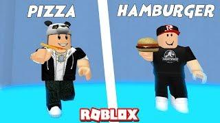 Pizza ou Hamburger ? Comment veux-tu être ? - Roblox préférez-vous avec Panda?