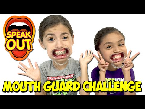 Mouthguard Challenge | Speak Out Challenge | Dental Mouthguard