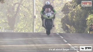 Horst Saiger - TT Isle of Man Crash 2014