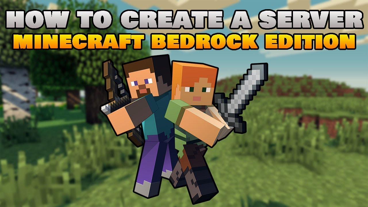 How To Create a Server For Minecraft Bedrock 1.17