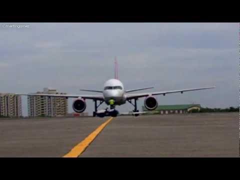 VIM Airlines Rare Visit in Philippines