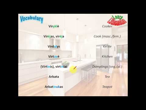 lithuanian-vocabulary---kitchen-appliances