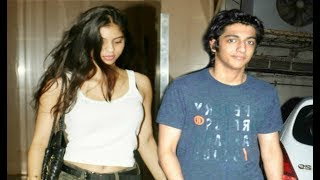 Shahrukh Khan Daughter Suhana Khan Spotted With Ahaan Panday