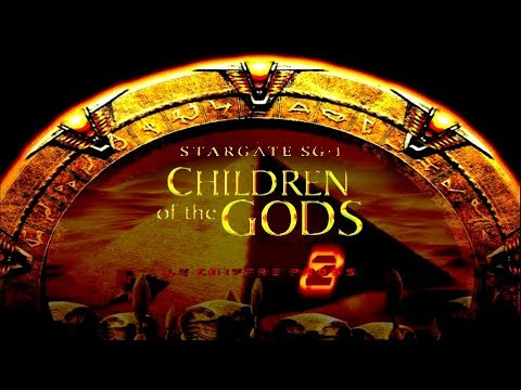 STARGATE SG-1 Children of the Gods©D J G  Home Productions™ poster
