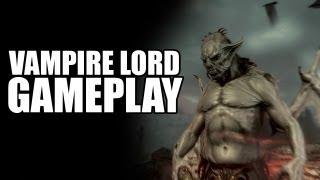 Dawnguard - Fully Skilled Vampire Lord Gameplay!