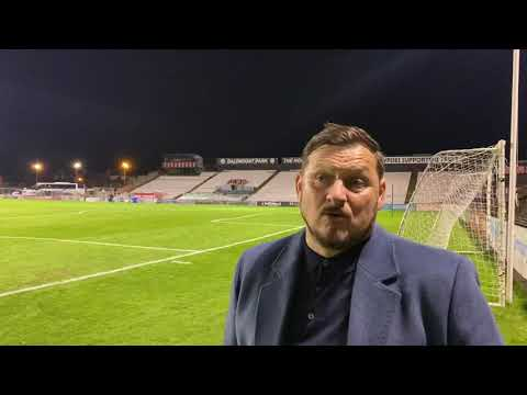 Marc Bircham post match Bohemians 25/10/2021