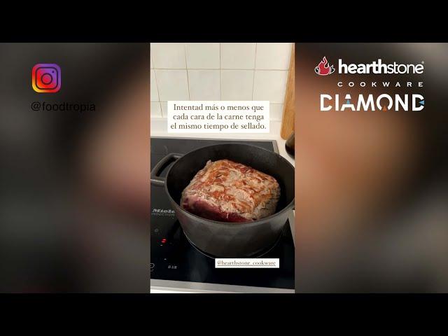 Receta de roast beef en cocotte Diamond by Foodtropia
