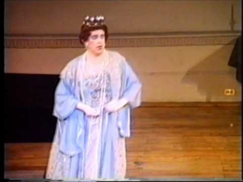 Schubert 'Der Erlkönig' - Michael Aspinall, the surprising soprano