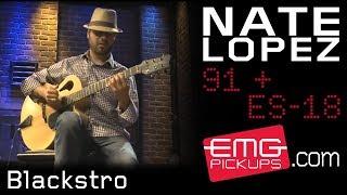 "Nate Lopez performs ""Blackstro"" for EMGtv"