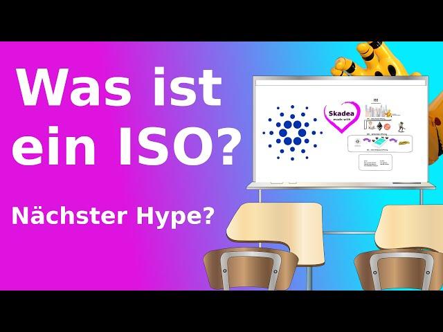 Was ist ein ISO? CARDANO einfach erklärt in 2 Minuten! Blockchain | Bitcoin | Staking |