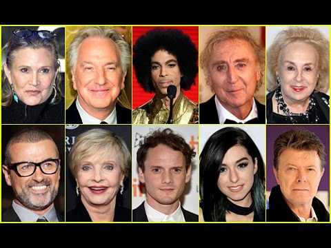 Celebrity Deaths in 2016: Some of the Many Famous Figures We Lost This Year w/ Clips ✓