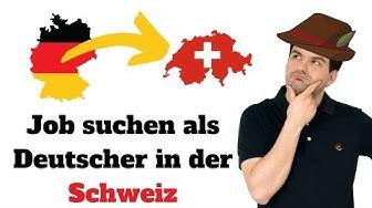Job suchen als Deutscher 🇩🇪 in der Schweiz🇨🇭🏔 | Auswanderluchs