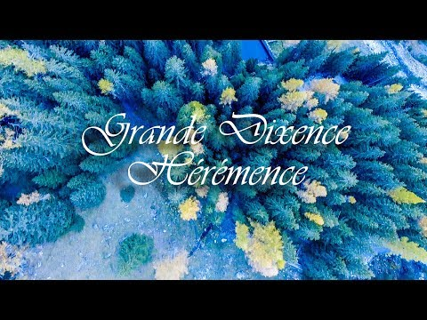The Grande Dixence dam Heremence - Switzerland