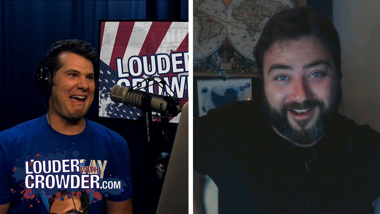 WAS JESUS A COMMUNIST?? (Sargon of Akkad Uncut Web Extended)   Louder With Crowder
