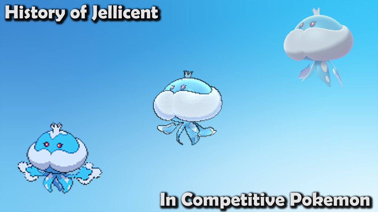 How GOOD was Jellicent ACTUALLY? - History of Jellicent in Competitive Pokemon