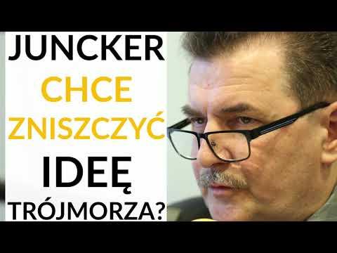 Prof. Krysiak: Juncker przyjechał na szczyt Trójmorza, żeby wbić klin pomiędzy państwa regionu