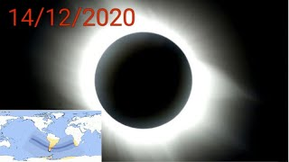 Eclipse solar total lunes 14 de diciembre 2020