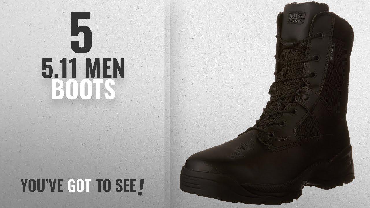 64755952c77 Top 10 5.11 Men Boots [ Winter 2018 ]: 5.11 Tactical A.T.A.C. 8