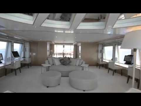 Inside Sunken Mega Yacht Yogi YouTube