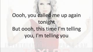 Download We are never ever getting back together (lyrics) - Taylor Swift Mp3