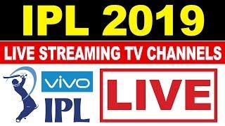 IPL 2019 Live Streaming Online & Broadcast TV Channel List - Star Sports 1 LIVE, IPL TV Live