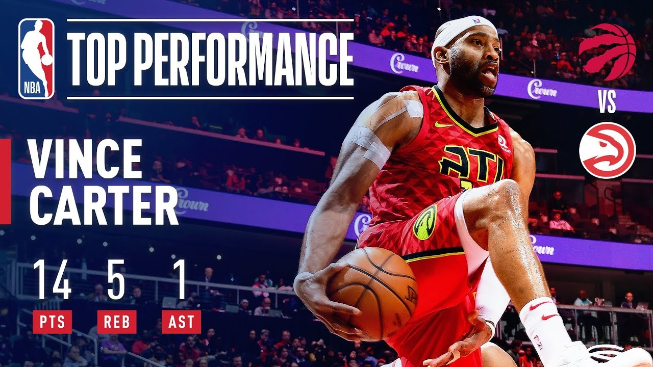 Report: Vince Carter to return to Hawks for 2019-20 season