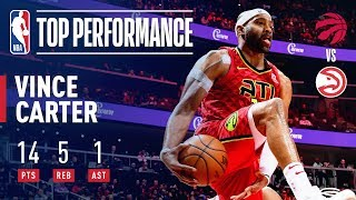 Vince Carter Surpasses 25,000 Career Points with a SLAM! | November 21, 2018