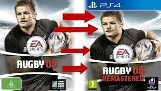 I Am Remastering Rugby 08!!!