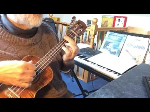 The Look of Love - solo ukulele - arranged & played by Colin Tribe